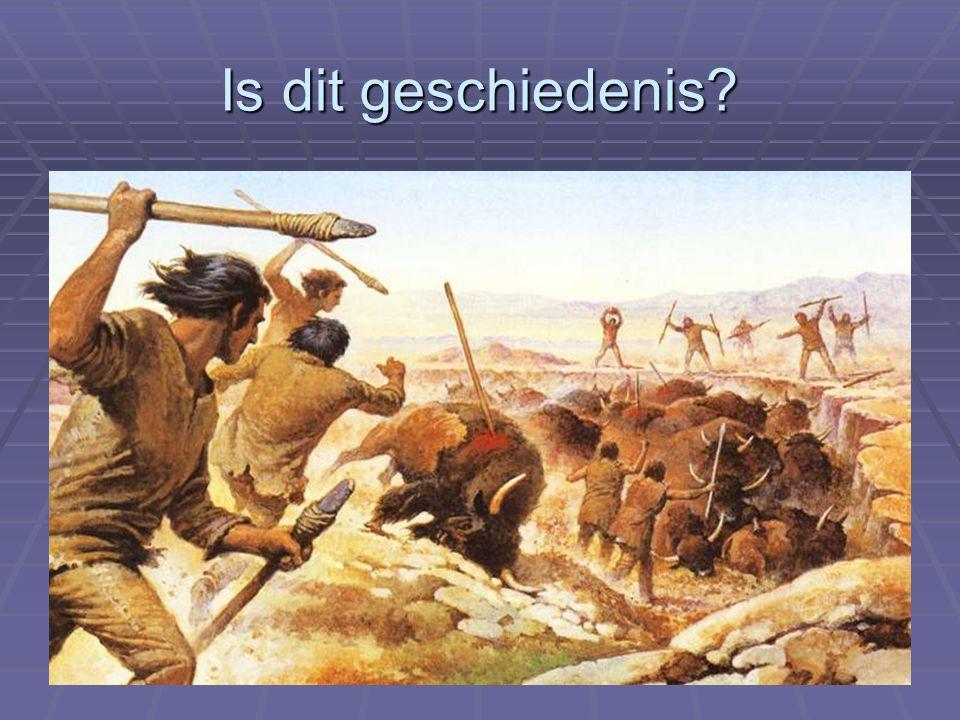 17 Vraag 1. gaat het plaatje over geschiedenis?