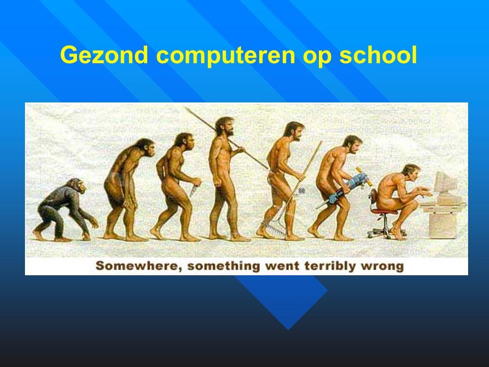 Gezond computeren op school