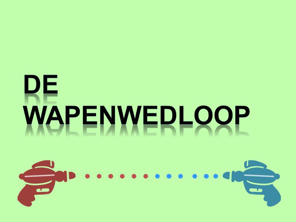 ONSTAAN VAN DE WAPENWEDLOOP VSSU Wederzijdse afschrikking d.m.v.