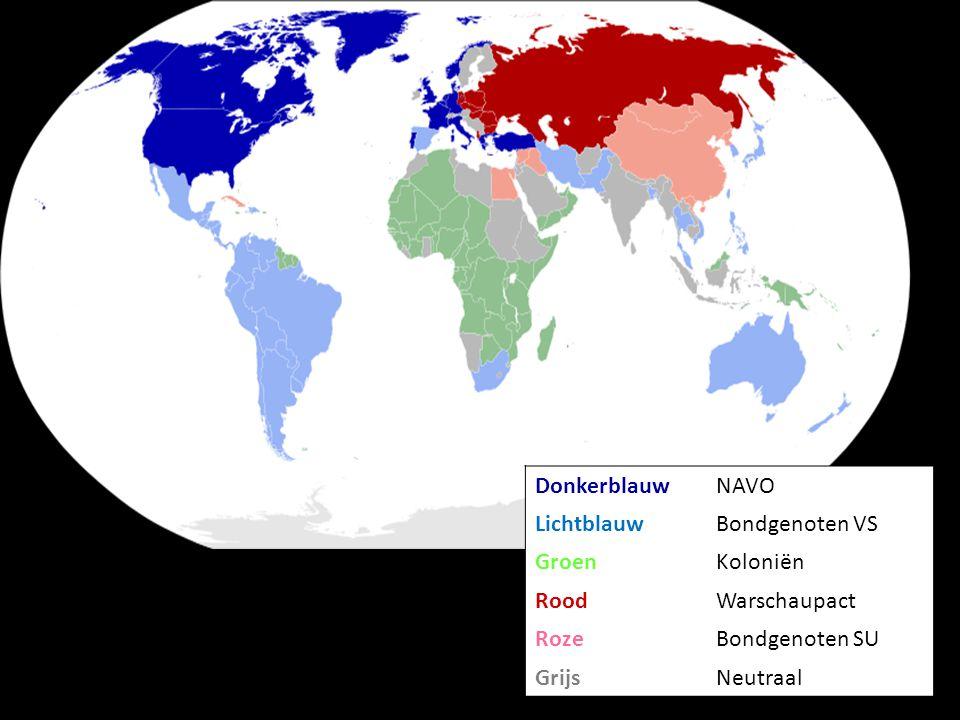 Wie heeft er de meeste kernwapens?  België  Rusland  Verenigde Staten