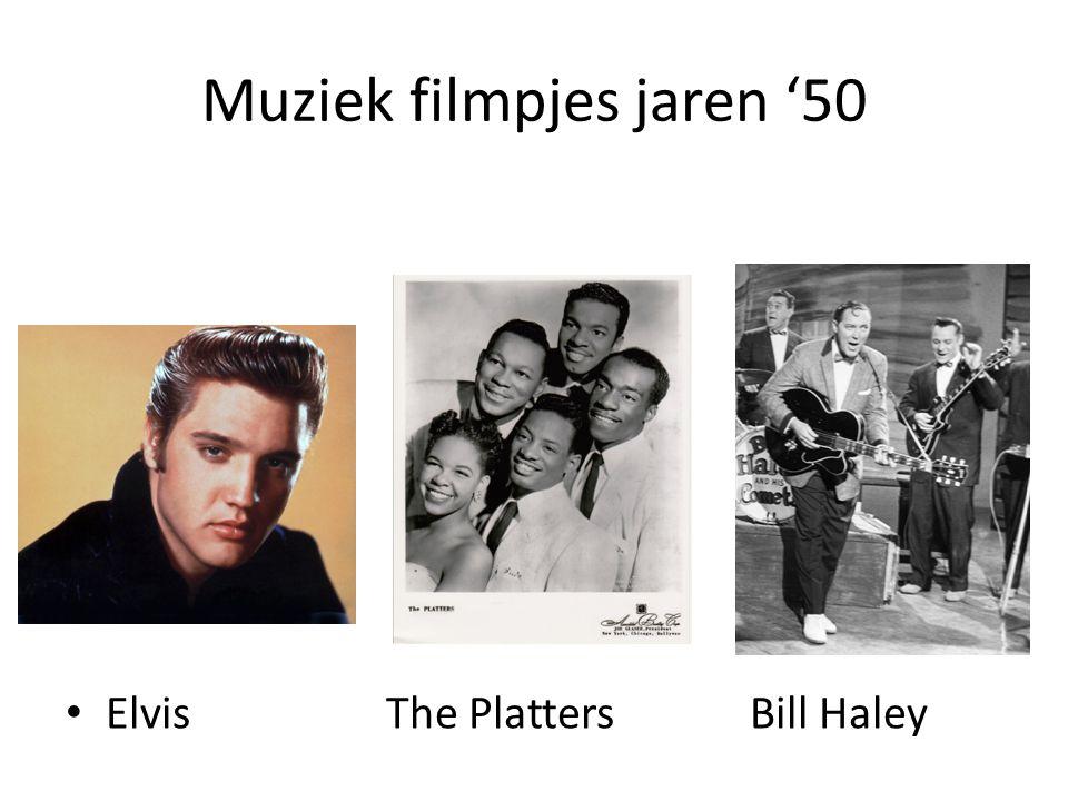 Muziek filmpjes jaren '50 ElvisThe Platters Bill Haley