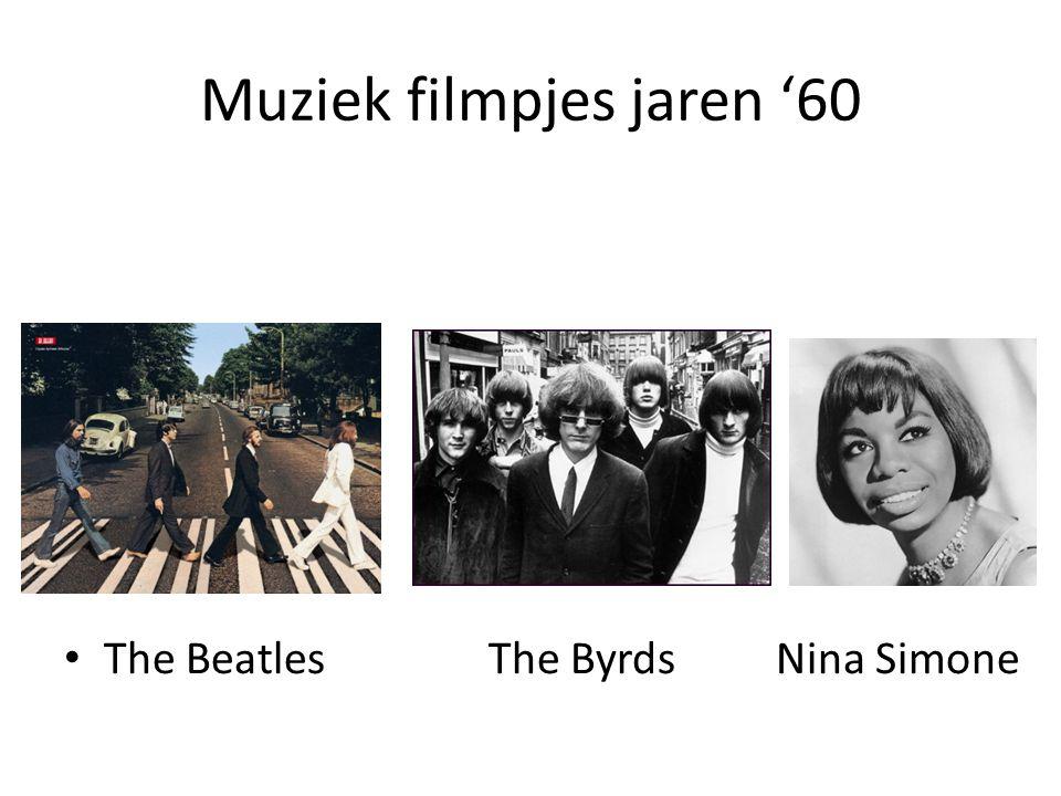 Muziek filmpjes jaren '60 The BeatlesThe Byrds Nina Simone