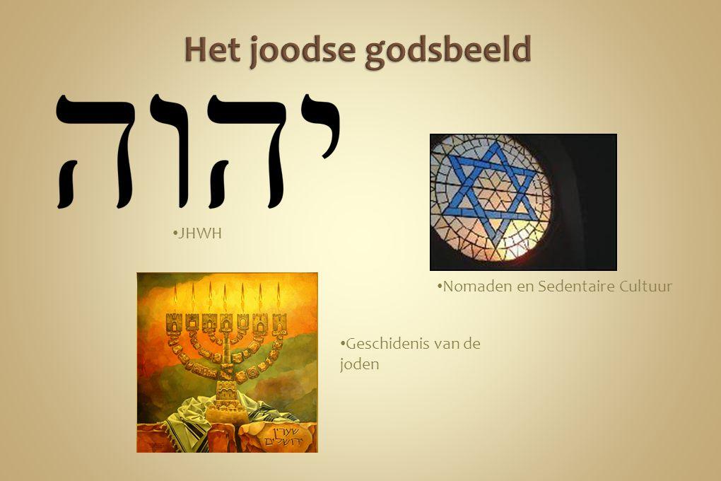 JHWH Geschidenis van de joden Nomaden en Sedentaire Cultuur