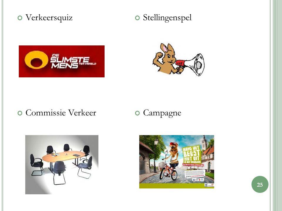 Verkeersquiz Commissie Verkeer Stellingenspel Campagne 25