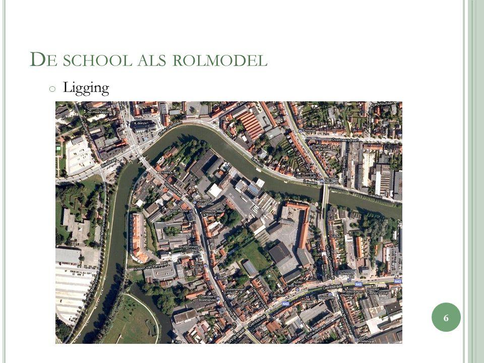 D E SCHOOL ALS ROLMODEL o Ligging 6