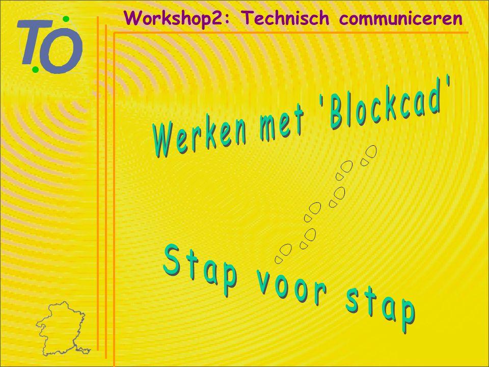 Linker muisknop Workshop2: Technisch communiceren Stap 11:
