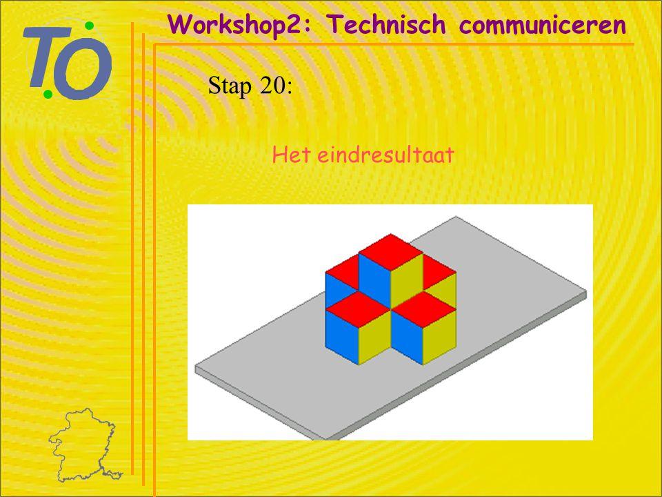Workshop2: Technisch communiceren Stap 20: Het eindresultaat
