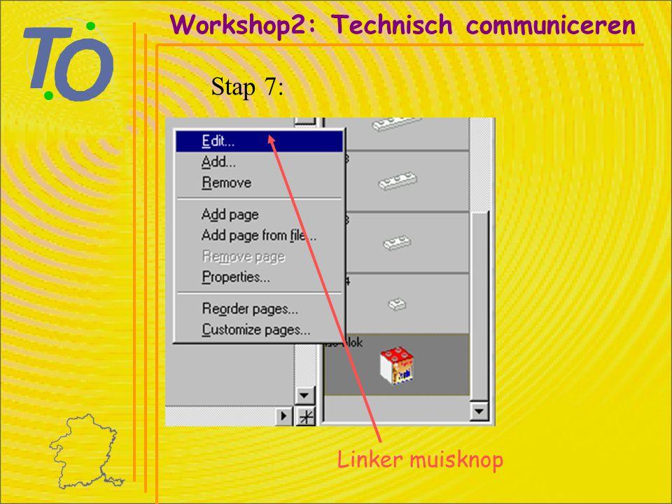 Linker muisknop Workshop2: Technisch communiceren Stap 8: Kies kleur GEEL