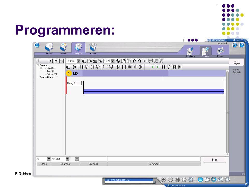 F. RubbenTwidosuite48 Programmeren: