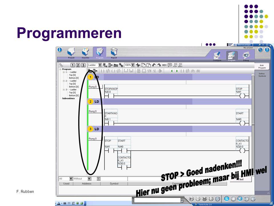 F. RubbenTwidosuite53 Programmeren