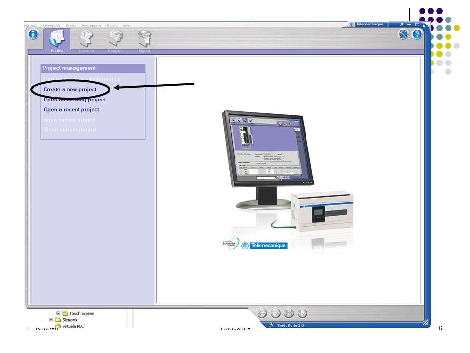 F. RubbenTwidosuite47 Intermezzo Zie tabel!!! Start/Stop met LAD? Zie tabel!!!