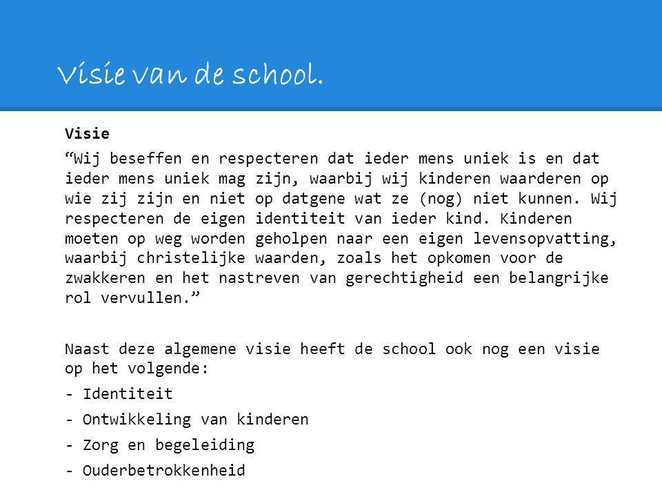 Visie van de school interview Kristian van den Berg Visie Reflecteren Leerling gestuurd Portfolio