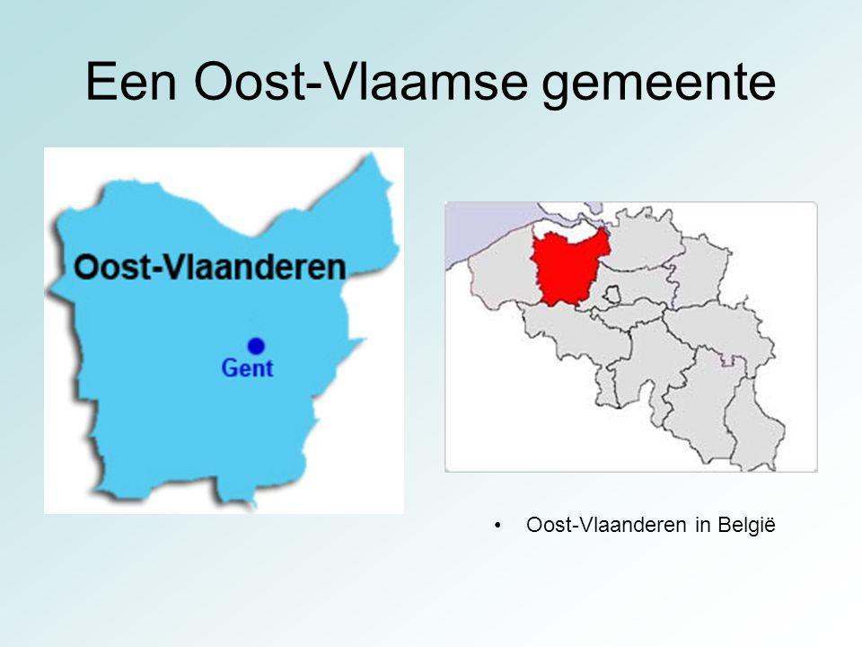 Een Oost-Vlaamse gemeente Oost-Vlaanderen in België