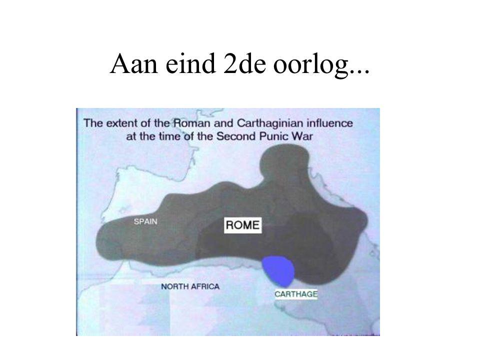 Aan eind 2de oorlog...