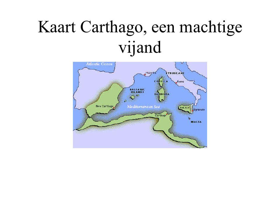 Plaatsnamen Carthage Sicilië Sardinië De Po Fenicië....