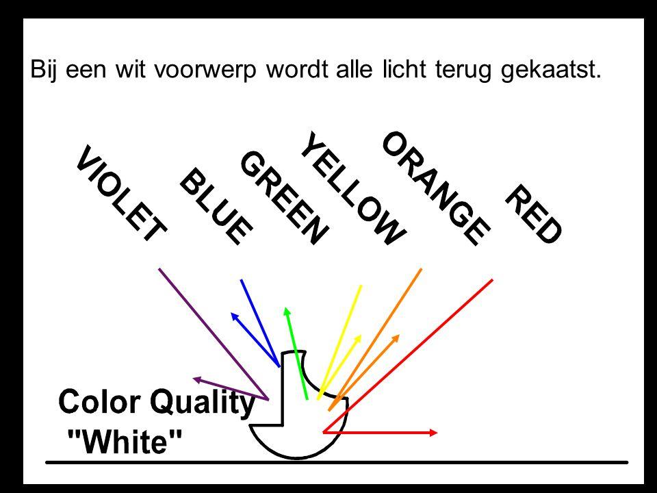 4.Schaduw B. Gekleurd Schaduw krijgt kleur wanneer het door gekleurd glas heen valt.