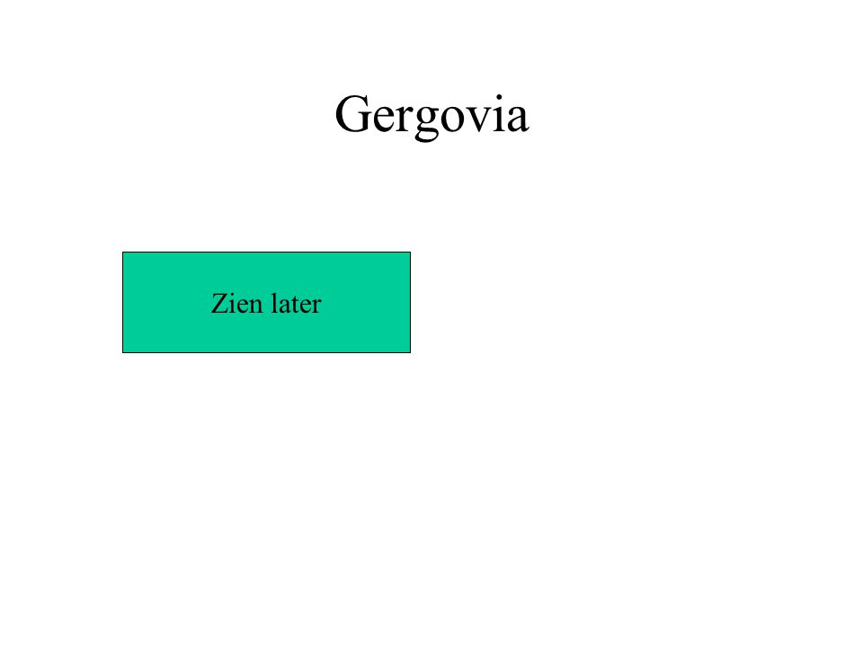 Gergovia Zien later