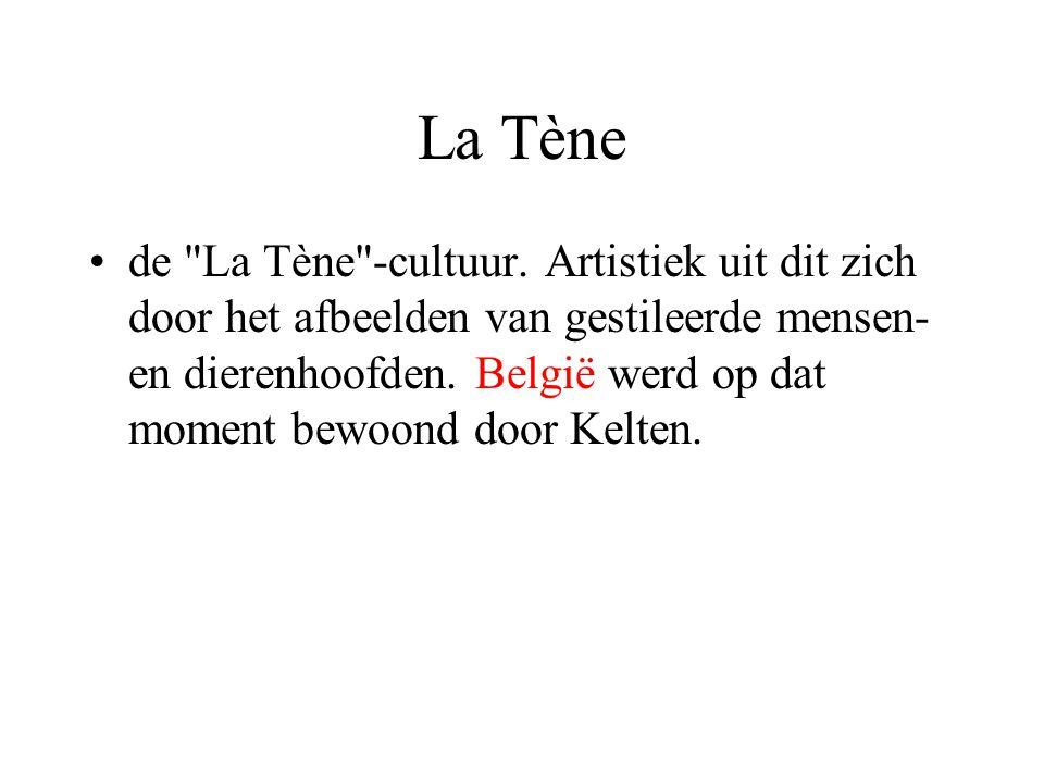 La Tène de La Tène -cultuur.