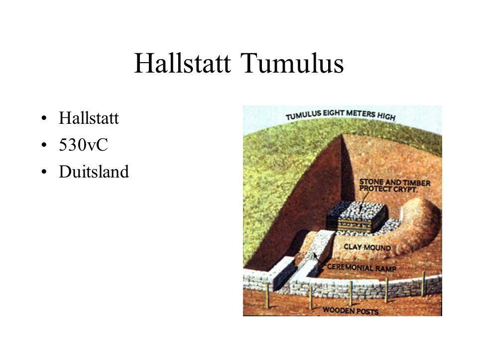 Hallstatt Tumulus Hallstatt 530vC Duitsland