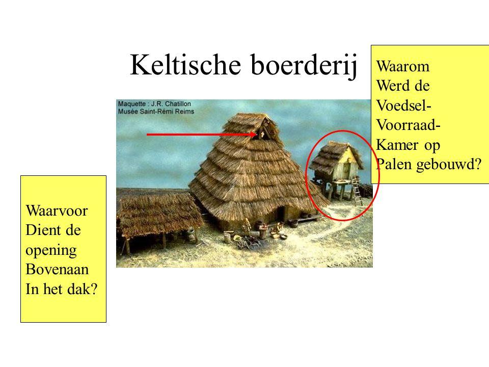Keltische boerderij Waarvoor Dient de opening Bovenaan In het dak.