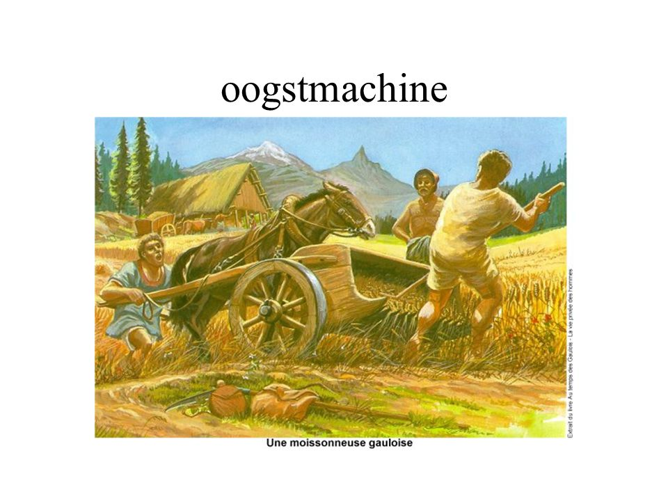 oogstmachine