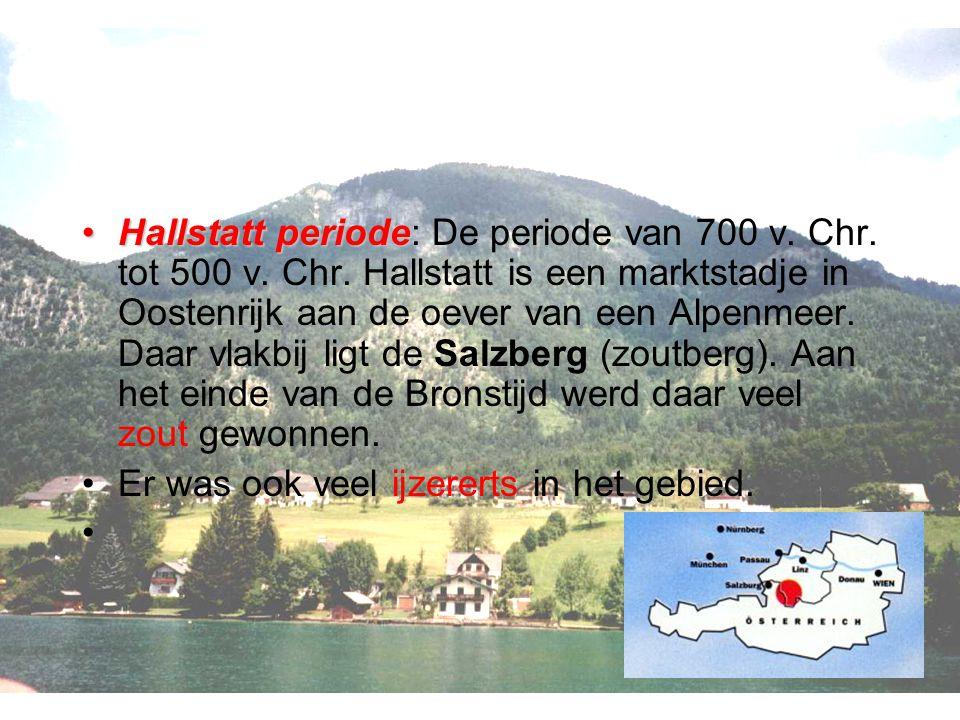 Hallstatt Hallstatt periodeHallstatt periode: De periode van 700 v.