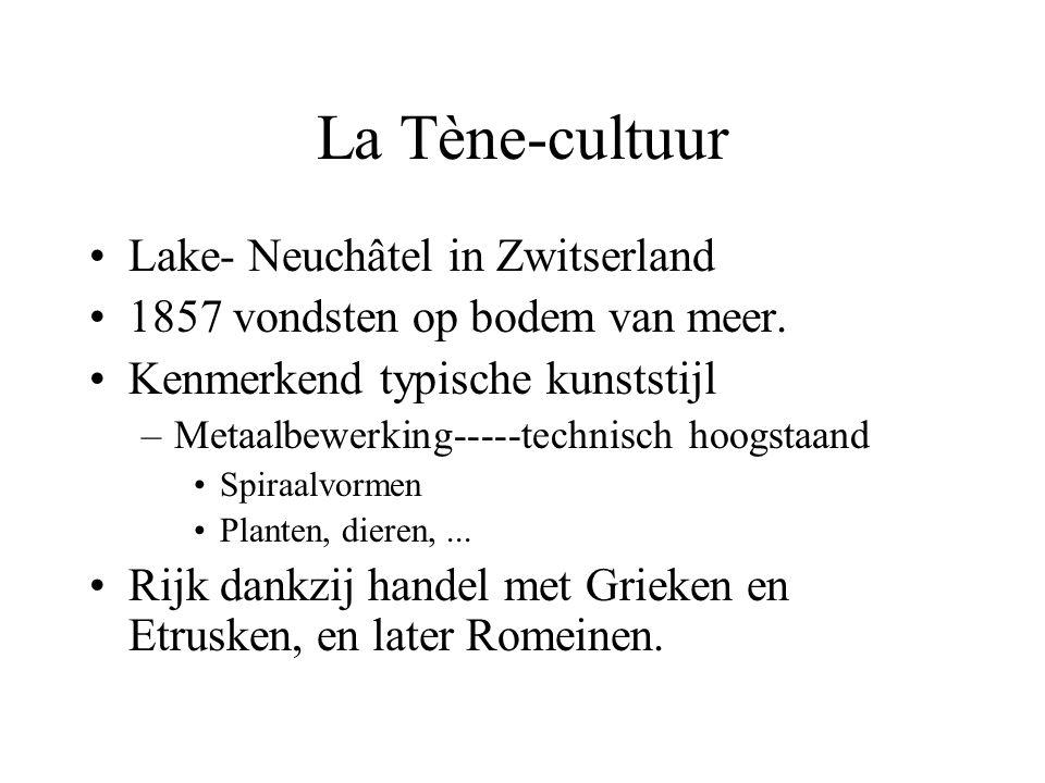 Lake- Neuchâtel in Zwitserland 1857 vondsten op bodem van meer.