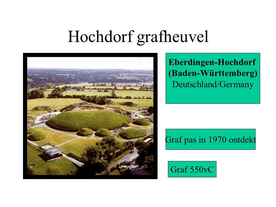 Hochdorf grafheuvel Eberdingen-Hochdorf (Baden-Württemberg) Deutschland/Germany Graf pas in 1970 ontdekt Graf 550vC