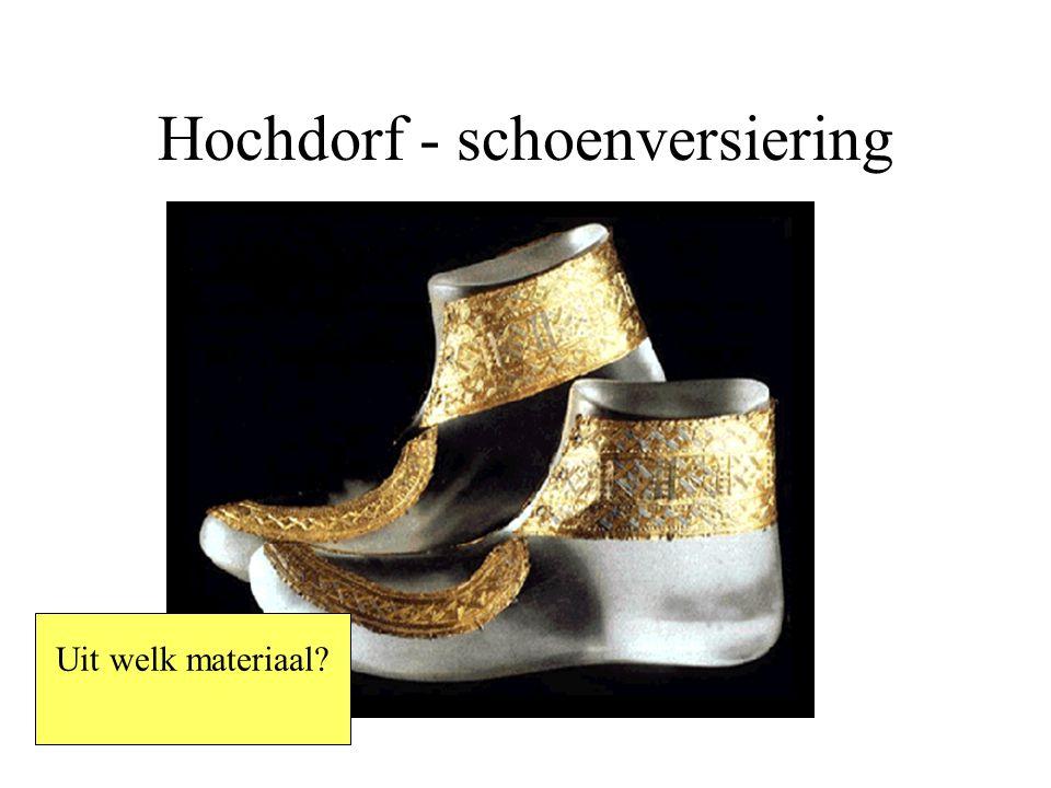 Hochdorf - schoenversiering Uit welk materiaal?