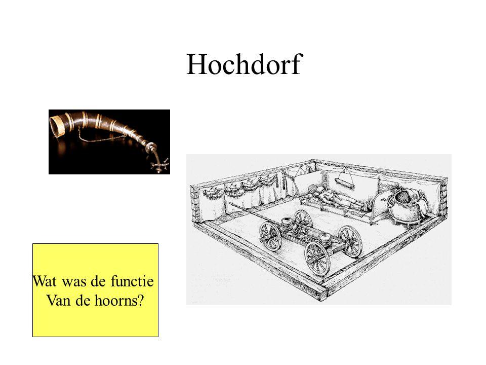 Hochdorf Wat was de functie Van de hoorns?