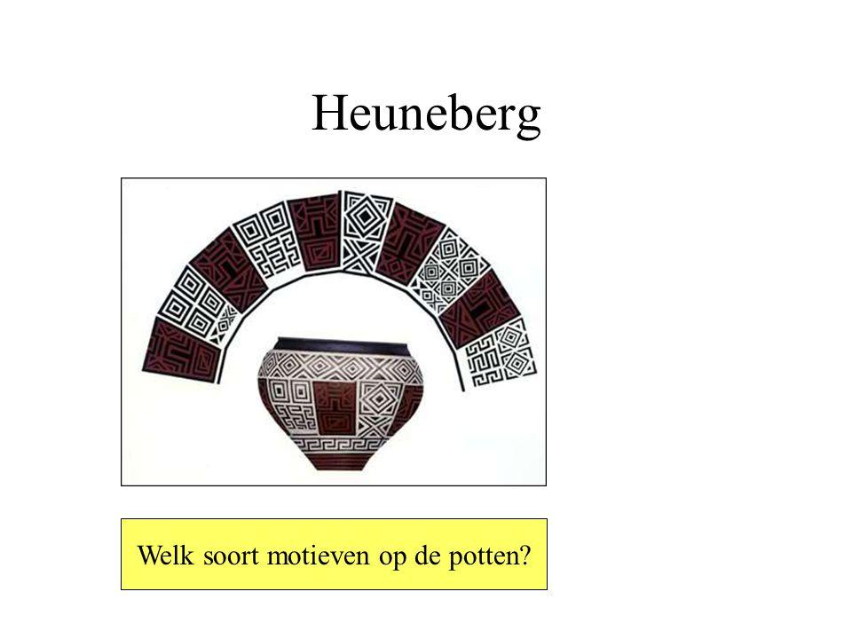 Heuneberg Welk soort motieven op de potten?