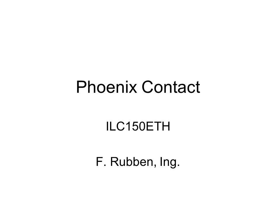 Per device moet je nu het correcte type opgeven: Eerst de analoge uitgang: IB IL AO 1/U/SF