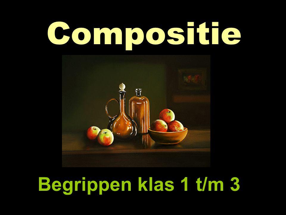 Wat is compositie? Verschillende soorten composities Voorbeeldplaatjes per soort