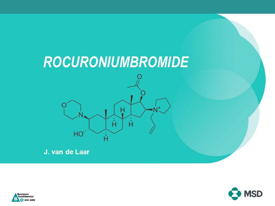 ROCURONIUMBROMIDE J. van de Laar