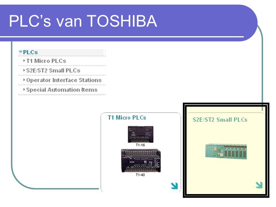 PLC's van TOSHIBA