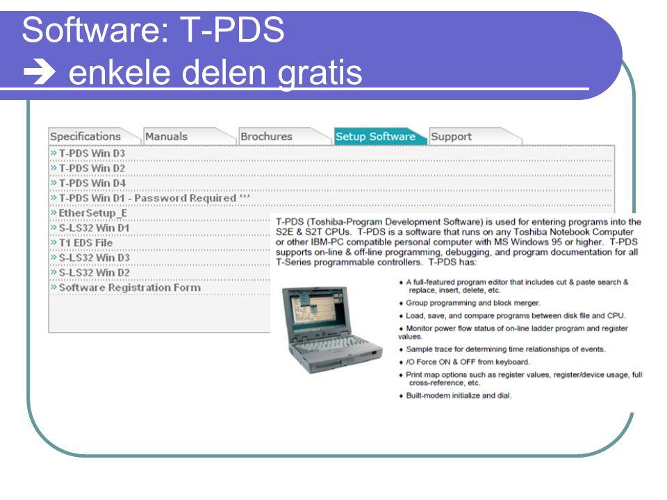 Software: T-PDS  enkele delen gratis