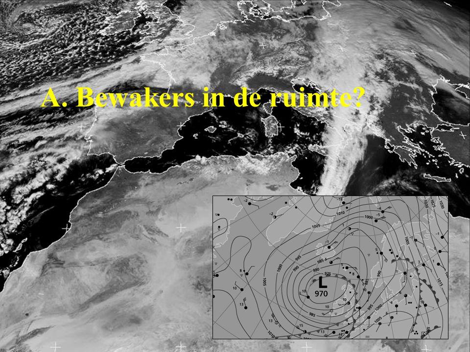 Geostationaire satelliet Polaire satelliet