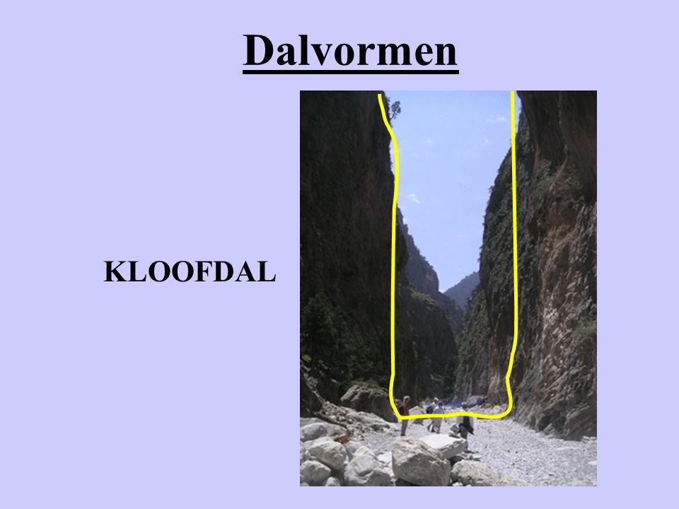 Dalvormen KLOOFDAL