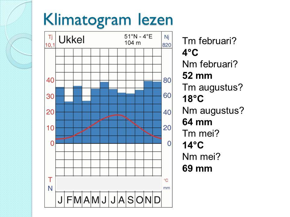 5. Hammerfest (extra blad) Klimaatnaam: koud klimaat met dooiseizoen. Vegetatietype: toendra.