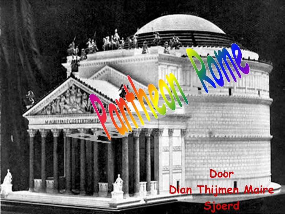 Inleiding pantheon...Waarom het gat in het dak . Hoe is het gebouwd .