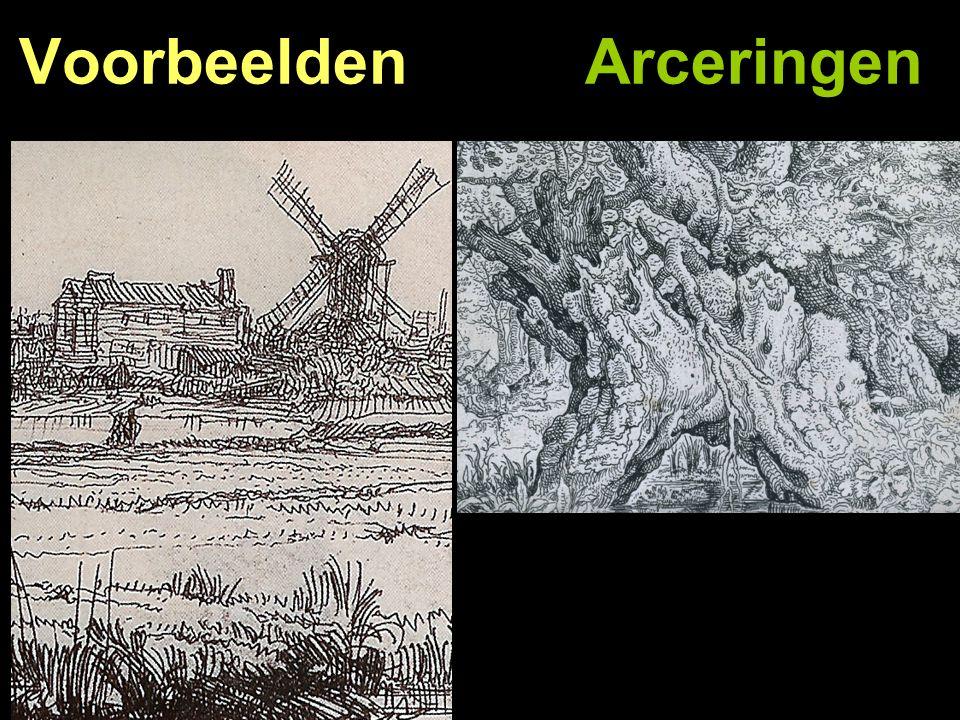 Voorbeelden Arceringen