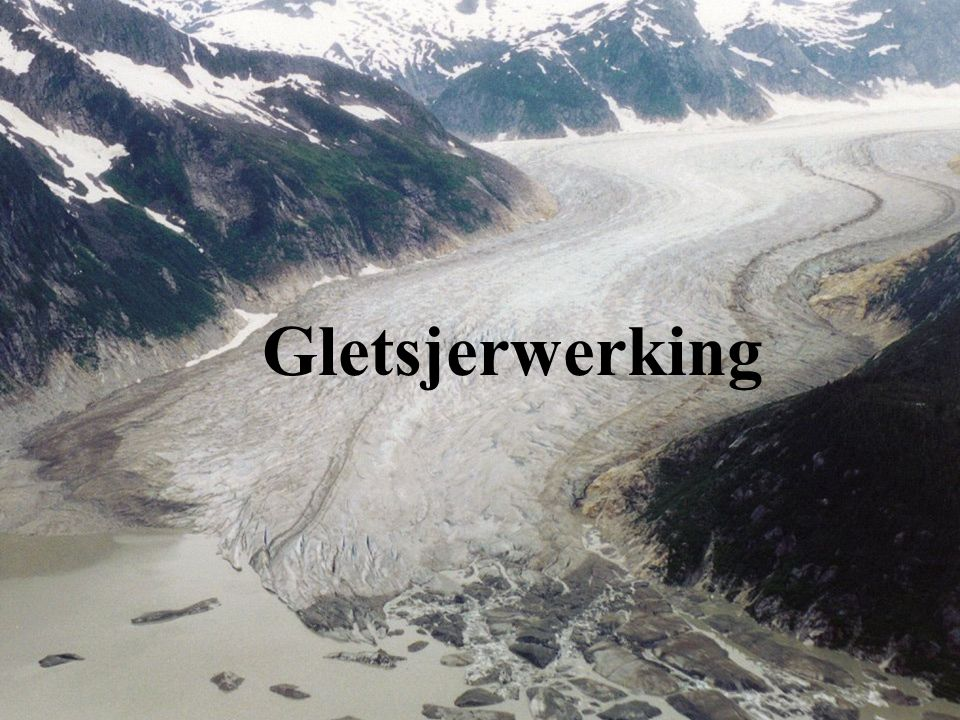 In welke gebieden komen gletsjers voor .