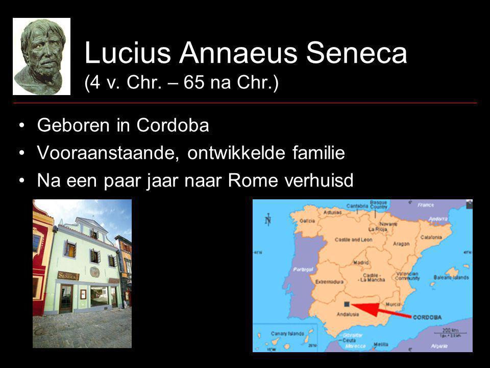 Lucius Annaeus Seneca (4 v. Chr.