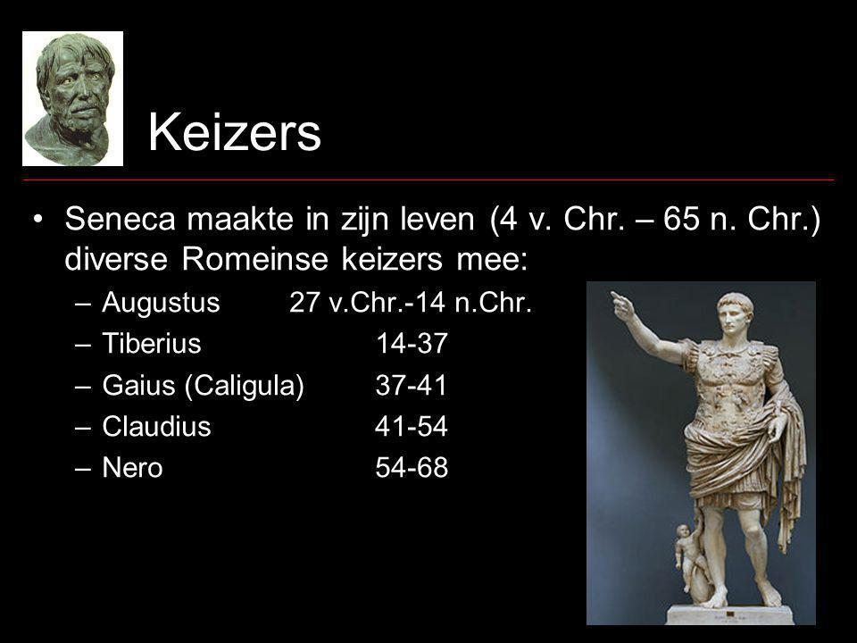 Keizers Seneca maakte in zijn leven (4 v. Chr. – 65 n.
