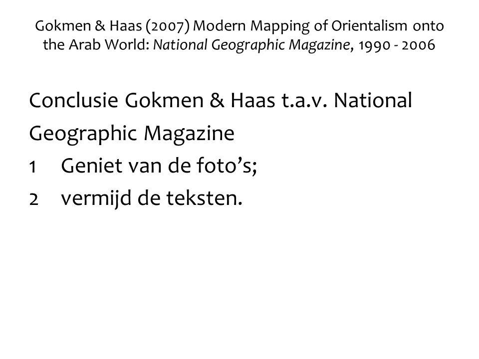 Conclusie Gokmen & Haas t.a.v.