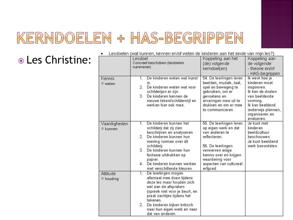  Les Christine: