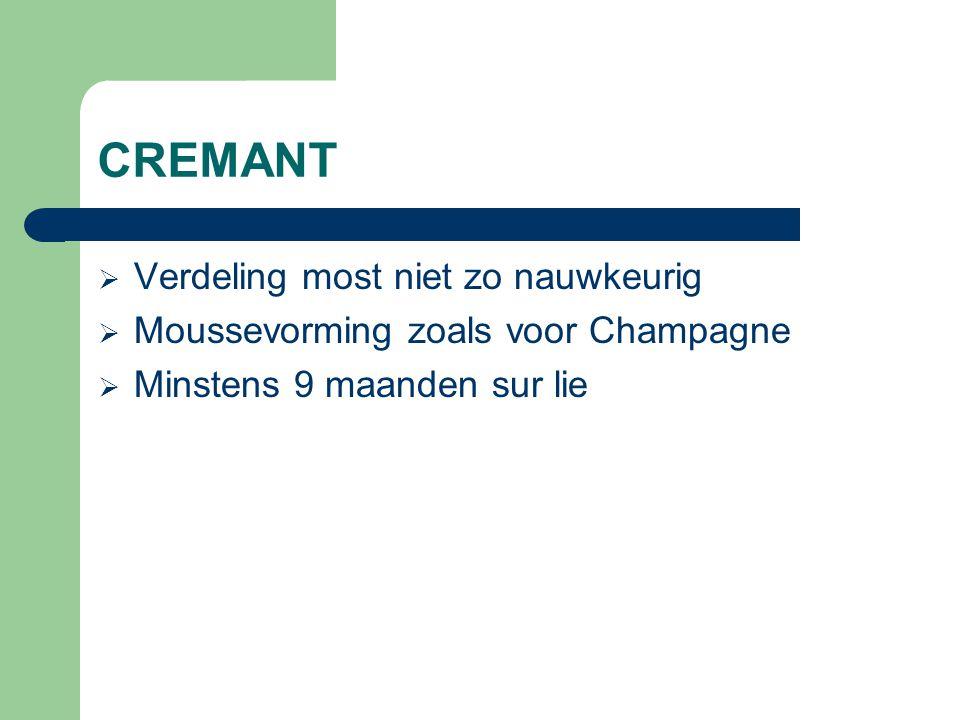 TRADITIONELE METHODE  Klassiek witte wijnbereiding, niet zoals in Champagne d.w.z.