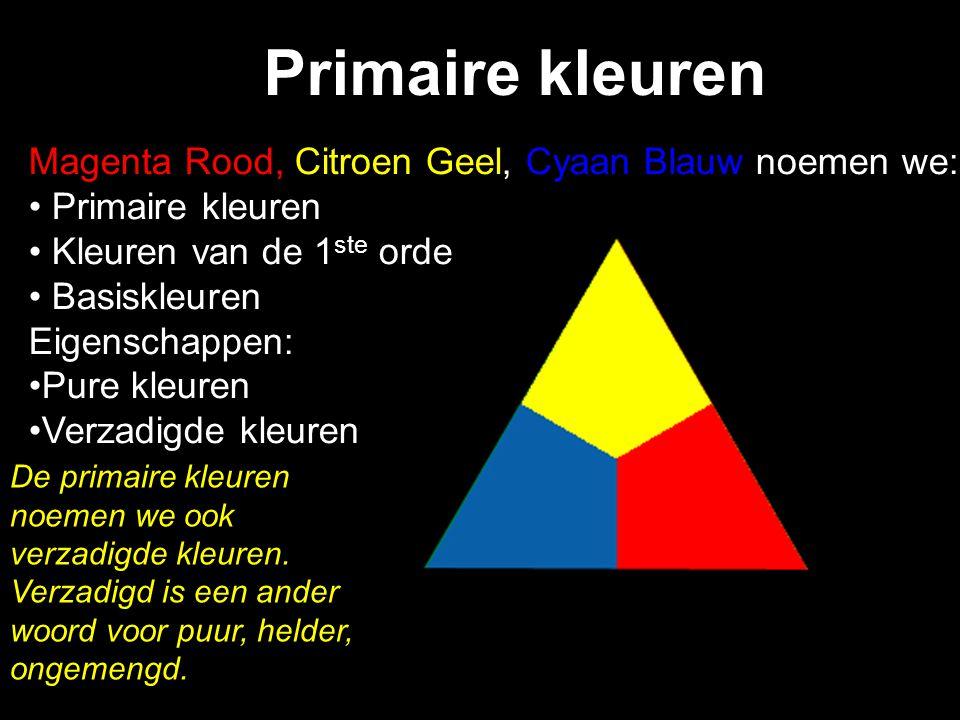 Kleurencirkel van Johannes Itten Een kleurencirkel is een gemakkelijke manier om kleuren te rangschikken. In deze cirkel zie je de primaire kleuren al
