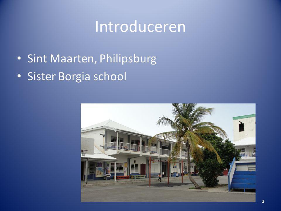 Introduceren Sint Maarten, Philipsburg Sister Borgia school 3