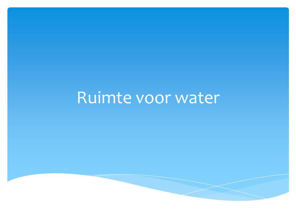 Hoe kunnen we Nederland droog houden.